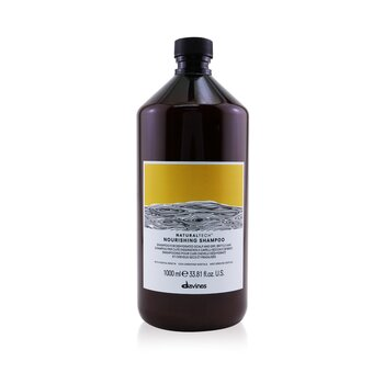 Davines Natural Tech Champú Nutritivo (Para Cuero Cabelludo Deshidratado y Cabello Seco, Débil)  1000ml/33.8oz