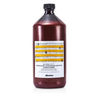 Davines Natural Tech Nourishing Vegetarian Miracle Conditioner (For Dry, Brittle Hair)  1000ml/33.8oz