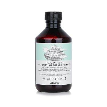 Davines Natural Tech Detoxifying Scrub Shampoo (For Atonic Scalp)  250ml/8.45oz
