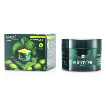 Rene Furterer Karite Intense Nourishing Mask (For Very Dry, Damaged Hair) (Jar)  200ml/6.93oz