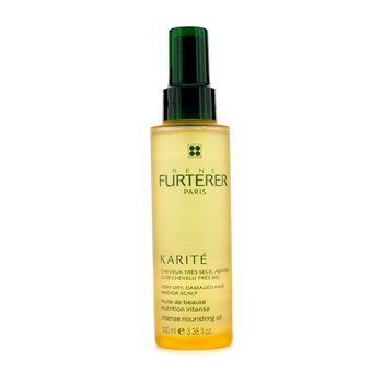 Rene Furterer Karite Intense Nourishing Oil (For Very Dry, Damaged Hair and/or Scalp)  100ml/3.38oz