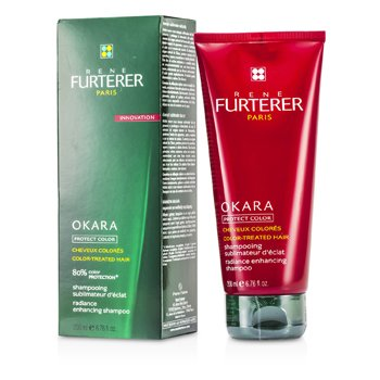 Rene Furterer Okara Radiance Enhancing Shampoo (For Color-Treated Hair)  200ml/6.76oz