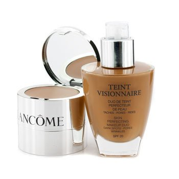 Lancome Teint Visionnaire Skin Perfecting Make Up Duo SPF 20 - # 06 Beige Cannelle  30ml+2.8g