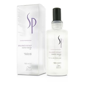 Wella Wella SP Balance Scalp Energy Serum (Cabello Vital y Fuerte)  100ml/3.4oz