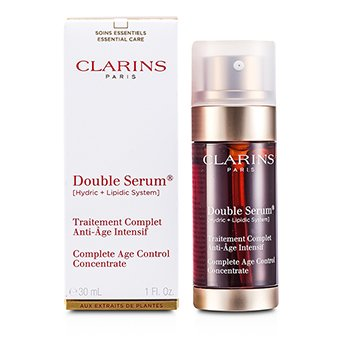 Clarins Double Serum na Ganap na Panghadlang sa Pagtanda na Concentrate  30ml/1oz