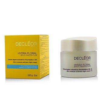 Decleor Creme Hydra Floral 24hr Hydrating Light Cream  50ml/1.69oz