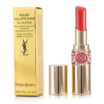 Yves Saint Laurent Rouge Volupte Shine - # 15 Corail Intuitive/ Corail Spontini  4.5g/0.15oz