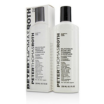 Peter Thomas Roth Tônico Glycolic Acid 10% Toning Complex  250ml/8.5oz