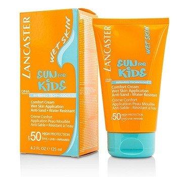 Lancaster Sun For Kids Crema Comodidad (Aplicación Piel Mojada)  125ml/4oz