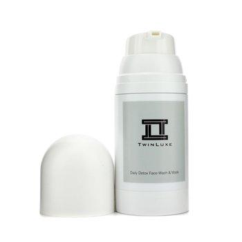 Twinluxe Detox čisticí péče a pleťová maska  150ml/5oz