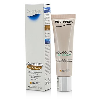 Biotherm Aquasource BB Cream - Fair to Medium L42363  30ml/1.01oz