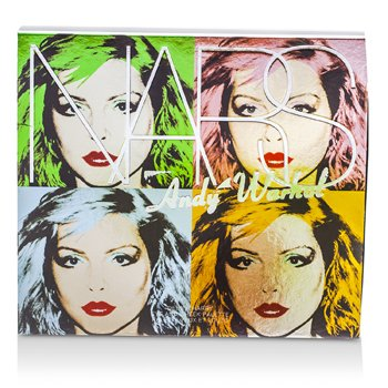 NARS Andy Warhol Collection Debbie Harry Eye And Cheek Palette (4x sjenilo, 2x rumenilo)  6pcs