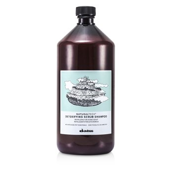 Davines Natural Tech Detoxifying Scrub Shampoo (For Atonic Scalp)  1000ml/34oz