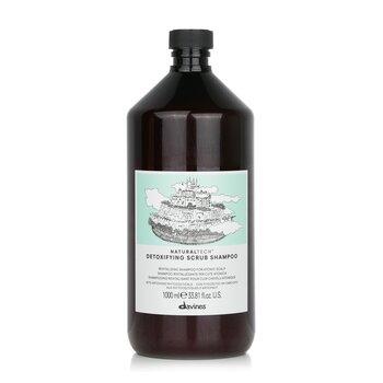 Davines Natural Tech Detoxifying kuorintashampoo (atooppiselle päännahalle)  1000ml/34oz