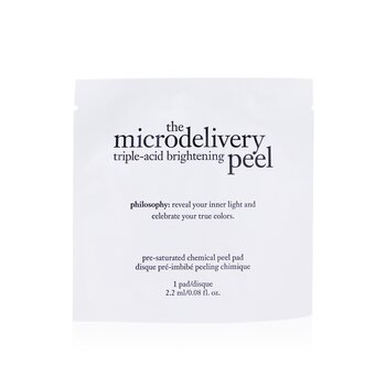 Philosophy The Microdelivery Triple-Acid Brightening Peel Pads  12pads