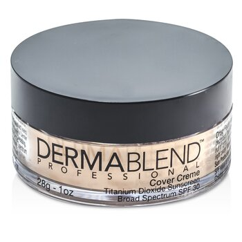 Dermablend Base Cover Creme Broad Spectrum SPF 30 (Cobertura itensa) - Pale Ivory  28g/1oz