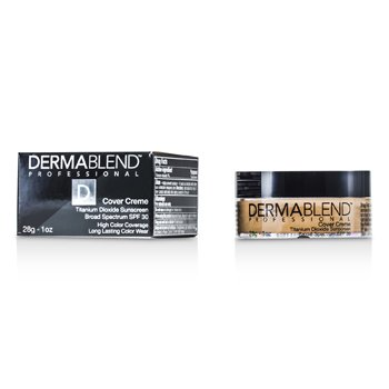 Dermablend Cover Creme Broad Spectrum SPF 30 (High Color Coverage) - Almond Beige  28g/1oz