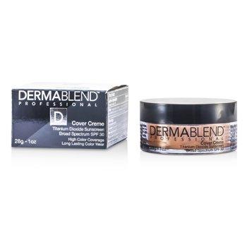 Dermablend Cover Creme Broad Spectrum SPF 30 (High Color Coverage) - Warm Beige  28g/1oz