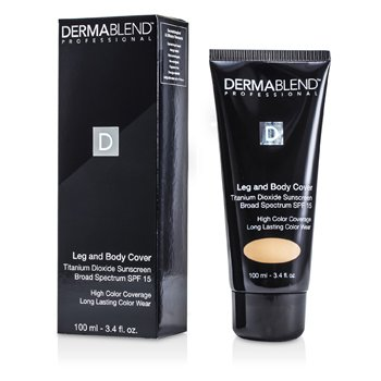 Dermablend Leg & Body Cover SPF 15 (Full Coverage & Long Wearability) - Natural  100ml/3.4oz