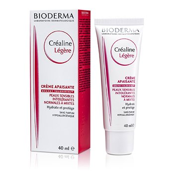 Bioderma Sensibio (Crealine) Light Cream (For Sensitive Skin)  40ml/1.33oz