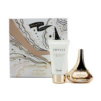 Guerlain Idylle Coffret: Eau De Parfum Spray 35ml/1.2oz + Body Lotion 75ml/2.5oz  2pcs