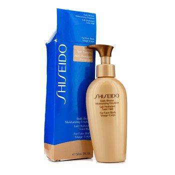 Shiseido Daily Bronze Moisturizing Emulsion (For Face / Body) (Box Slightly Damaged)  150ml/5.1oz