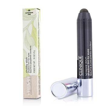 Clinique Cień w kredce Chubby Stick Shadow Tint for Eyes - # 08 Curvaceous Coal  3g/0.1oz