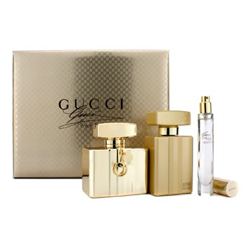 Gucci Premiere Coffret: Eau De Parfum Spray 75ml/2.5oz + Loci�n Corporal 100ml/3.3oz + Eau De Parfum Spray 7.4ml/0.25oz