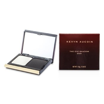 Kevyn Aucoin The Eye Shadow Duo - # 209 Snow/ Coal  4.8g/0.16oz