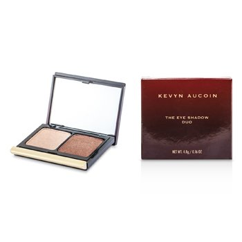 Kevyn Aucoin La Sombra de Ojos Duo - # 210 Sugared Peach/ Rusted Brown Sugar  4.8g/0.16oz