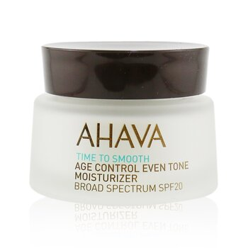Ahava Time To Smooth Hidratante Unificador de Tono Antiedad SPF 20  50ml/1.7oz