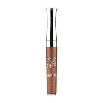 Bourjois Brilho labial Rouge Pop Chic - # 07 Beige Choc  4.5ml/0.1oz