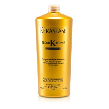 Kerastase Elixir Ultime Oleo-Complexe Sublime Cleansing Oil Shampoo (For All Hair Types)  1000ml/34oz