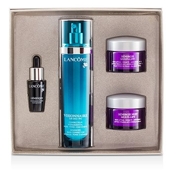 Lancome Set  Visionnaire: Visionnaire [LR2412] 50ml + Renergie Multi-Lift 15ml + Genifique 7ml + Renergie Yeu  4pcs