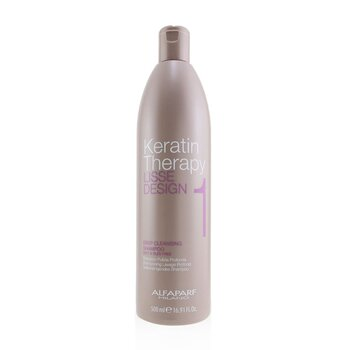 AlfaParf Lisse Design Keratin Therapy Deep Cleansing Shampoo  500ml/16.91oz