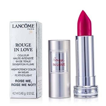 Lancome Rouge In Love Ruj - # 375N Rose Me, Rose Me Not!  4.2ml/0.12oz