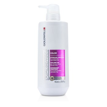 Goldwell Dual Senses Color Detangling Conditioner (For Normal to Fine Color-Treated Hair)  750ml/25.4oz