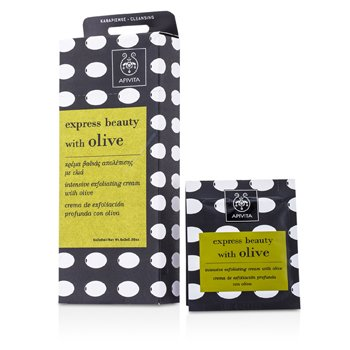 Apivita Express Beauty Intensive Exfoliating Cream with Olive  6x(2x8ml)