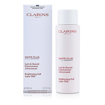 Clarins White Plus Total Luminiscent Leche-Aqua Iluminante Suave  200ml/6.7oz