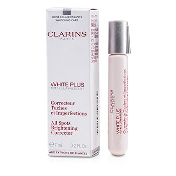 Clarins White Plus Total Luminescent All Spots Brightening Corrector  7ml/0.2oz