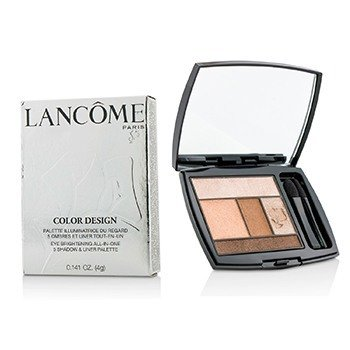 Lancôme Paleta Color Design 5  Sombras & Lápis Palette - # 200 Coral Crush (US Version)  4g/0.141oz