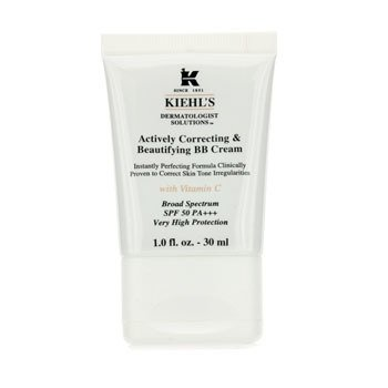 Kiehl's Creme BB Actively Correcting & Beautifying  SPF 50 PA+++ (Fair) S05660  30ml/1oz