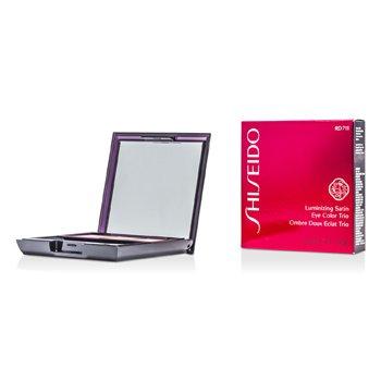Shiseido Trío Color de Ojos Satinados Iluminadores - # RD711 Pink Sand  3g/0.1oz