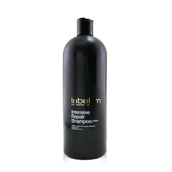 Label.M Intensive Repair Shampoo (Intensive Repair For Visually Damaged, Coarse Hair)  1000ml/33.8oz