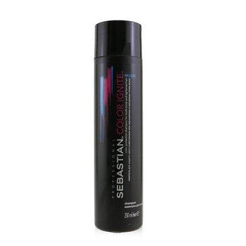 Sebastian Color Ignite Multi Color Protection Shampoo (Para Cabelos Multi-Tonal and Iluminados)  250ml/8.5oz