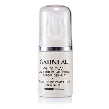 Gatineau White Plan Cilt Aydınlatıcı Göz Çevresi için Konsantre (Kutusuz)  15ml/0.5oz