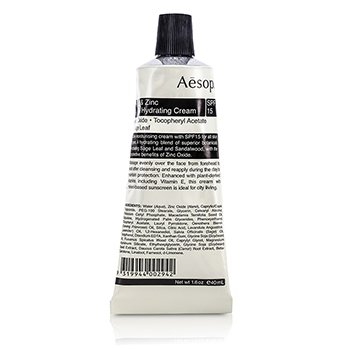Aesop Sage & Zinc Crema Facial Hidratante SPF15  40ml/1.63oz