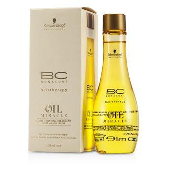 Schwarzkopf BC Oil Miracle Tratamiento Acabado Ligero (Para Cabello Fino a Normal)  100ml/3.4oz