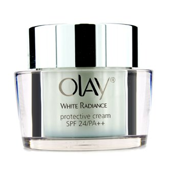 Olay White Radiance Protective Cream SPF24 PA++ (Unboxed)  50g/1.7oz