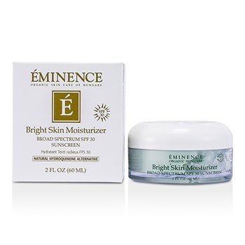 Eminence Bright Skin Moisturizer Protector Solar SPF 30 Espectro Amplio  60ml/2oz